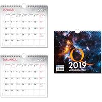 Q-vuosikalenteri 2019 seinäkalenteri