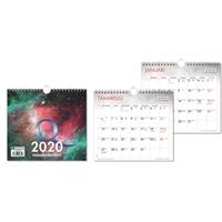 Q-vuosikalenteri 2020 seinäkalenteri - CC Kalenteripalvelu