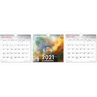 Q-vuosikalenteri 2021 seinäkalenteri - CC Kalenterit