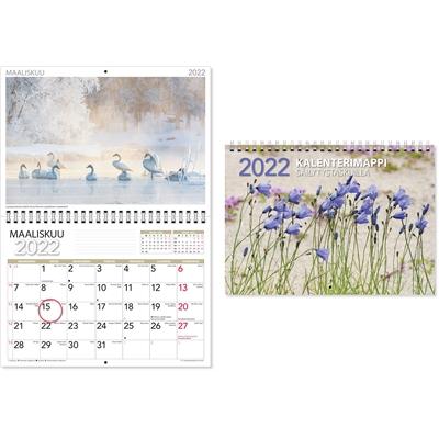 CC Kalenterimappi  2022 seinäkalenteri - CC Kalenterit