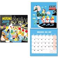 Muumi-seinäkalenteri 2019