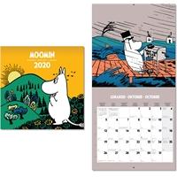Muumi 2020 seinäkalenteri - CC Kalenteripalvelu