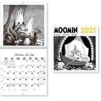 Muumi 2021 seinäkalenteri - CC Kalenterit