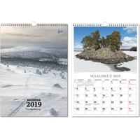 Suuri maisemakalenteri 2019 seinäkalenteri