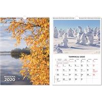 Suuri maisemakalenteri 2020 seinäkalenteri - CC Kalenteripalvelu