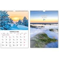Suuri maisemakalenteri 2021 seinäkalenteri - CC Kalenterit