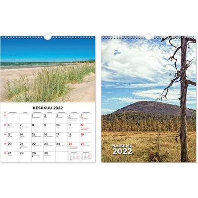 Suuri maisemakalenteri  2022 seinäkalenteri - CC Kalenterit