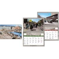 Entisaikojen Helsinki 2020 seinäkalenteri - CC Kalenteripalvelu