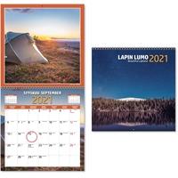 Lapin lumo 2021 seinäkalenteri - CC Kalenterit