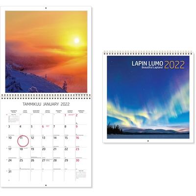 Lapin lumo 2022 seinäkalenteri - CC Kalenterit