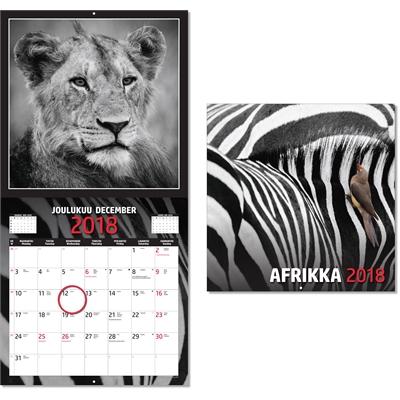 Afrikka 2018 seinäkalenteri