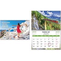 Maailman ympäri 2020 seinäkalenteri - CC Kalenteripalvelu