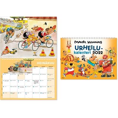 Mauri Kunnas 2022 seinäkalenteri - CC Kalenterit