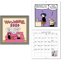 Viivi ja Wagner 2020 seinäkalenteri - CC Kalenteripalvelu