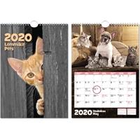 Lemmikit 2020 seinäkalenteri - CC Kalenteripalvelu