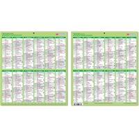 Pieni vuosikalenteri 2020 taulukkokalenteri - CC Kalenteripalvelu
