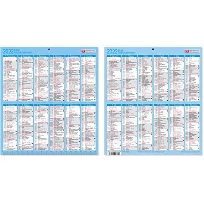 Pieni vuosikalenteri 2022 taulukkokalenteri - CC Kalenterit