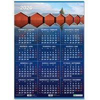 Vuosijuliste ripustuslistoin 2020 taulukkokalenteri - CC Kalenteripalvelu