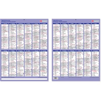 Suuri vuosikalenteri 2022 taulukkokalenteri - CC Kalenterit