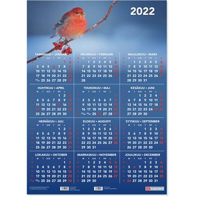 Vuosijuliste 2022 taulukkokalenteri - CC Kalenterit
