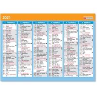 Vuosialmanakka 2021 taulukkokalenteri - CC Kalenterit