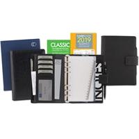 Classic-kansio musta ja kalenterivuosipaketti 2019