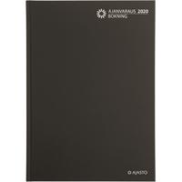 Ajanvaraus/Bokning 2020 sidottu pöytäkalenteri - Ajasto