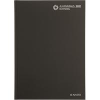 Ajanvaraus/Bokning 2021 sidottu pöytäkalenteri - Ajasto