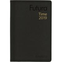 Futura Time 2019 musta taskukalenteri