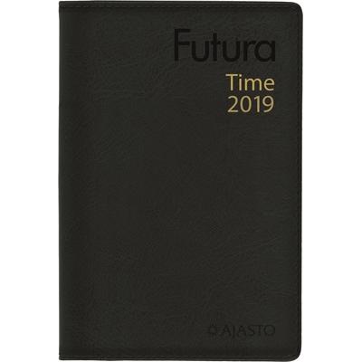 Futura Time 2018 musta taskukalenteri