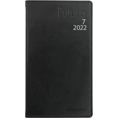 Futura 7 musta 2022 taskukalenteri - Ajasto