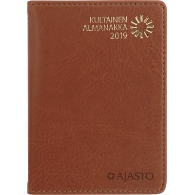 Kultainen almanakka 2018 taskukalenteri