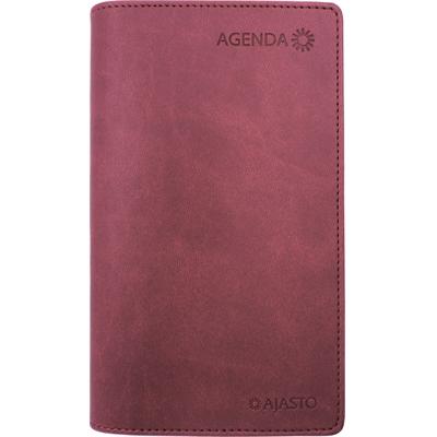 Agenda 2018 viinipunainen taskukalenteri