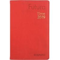 Futura Time 2019 punainen taskukalenteri