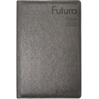Futura Time 2020 grafiitinharmaa taskukalenteri - Ajasto