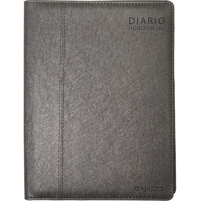 Diario Horizontal 2020 grafiitinharmaa pöytäkalenteri - Ajasto