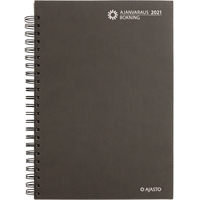 Ajanvaraus/Bokning 2021 parikierresidottu pöytäkalenteri - Ajasto