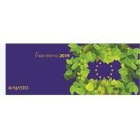 Euro Memo 2019 pöytäkalenteri