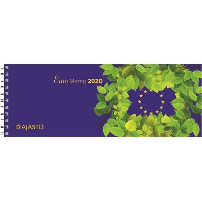 Euro Memo 2020 pöytäkalenteri - Ajasto