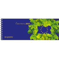 Euro Memo 2022 pöytäkalenteri - Ajasto