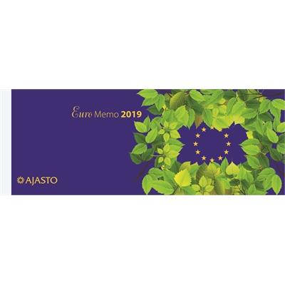 Euro Memo 2018 pöytäkalenteri