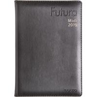 Futura Midi 2019 musta pöytäkalenteri