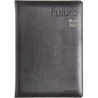 Futura Midi 2021 musta pöytäkalenteri - Ajasto