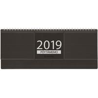 Pöytämemo 2019 musta pöytäkalenteri