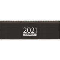Pöytämemo 2021 musta pöytäkalenteri - Ajasto