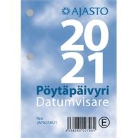 Pöytäpäivyri/Datumvisare 2021 pöytäkalenteri - Ajasto
