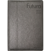 Futura Midi 2020 grafiitinharmaa pöytäkalenteri - Ajasto