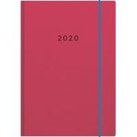 Color A6 2020 punainen taskukalenteri - Ajasto