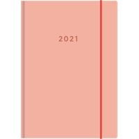 Color A6 2021 persikka taskukalenteri - Ajasto