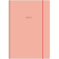 Color A5 2021 persikka pöytäkalenteri - Ajasto